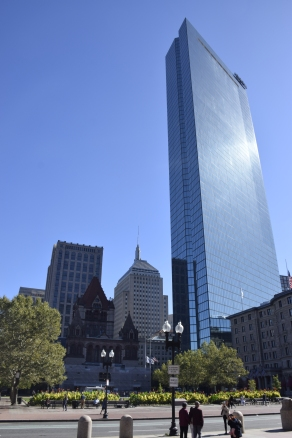 John Hancock and Trinity Church